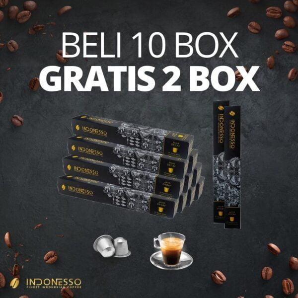promo java decaf coffee capsule indonesso
