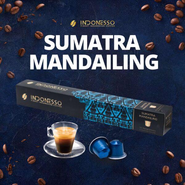 sumatra mandailing coffee capsule indonesso