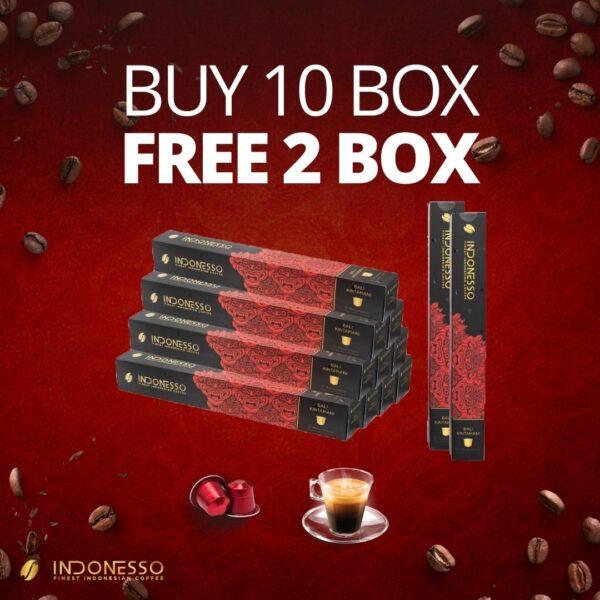 promo bali kintamani coffee capsule indonesso