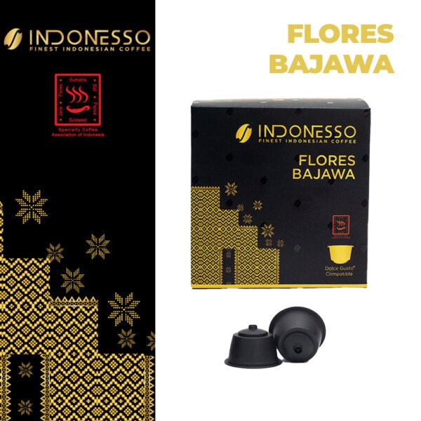 flores bajawa coffee dolce gusto indonesso