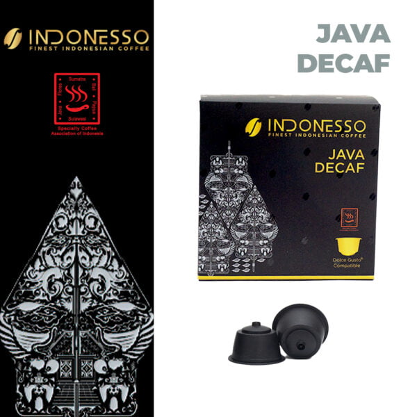 java decaf dolce gusto compatible coffee capsules